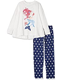 United Colors of Benetton Pyjama Set (Sweater+Trousers), Pijama de una Pieza para Niñas