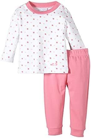 Twins Baby - Mädchen Zweiteiliger Schlafanzug mit Oberteil, Rosa (morning glory), 74
