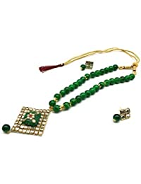 Satyam Kraft Traditional Multicolour Beaded Kundan Necklace For Her/traditional Set/wedding Necklace/ethnic Necklace