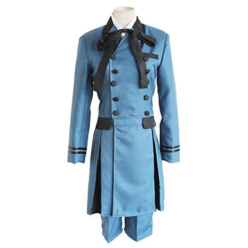 RL Black Butler Kuroshitsuji Ciel Phantomhive Cosplay Kostüm-Prägung Sebasti Kuroshitsuji Aristocrat Cosplay Kostüm,Full (Ciel Cosplay Kostüm)