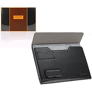 Broonel London – Prestige – schwarzes premium Case / Cover Trage Tasche / Folio speziell für das JINYJIA E-SHOP