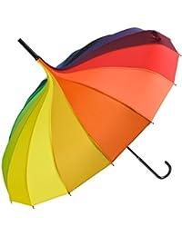 fasci Girl Pagoda pantalla sombrilla paraguas parasol Stock pantalla con larga Stock