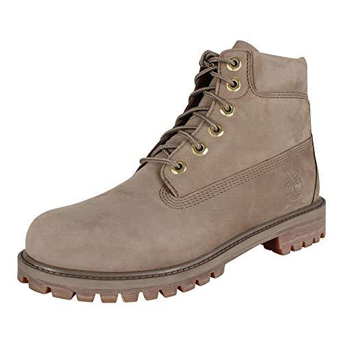 Timberland Kinder Boot 6-Inch Premium Boot Junior Dark Beige 39.5 Dark Beige Schuhe