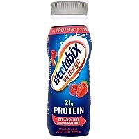 Weetabix en la proteína Go desayuno Bebida de la fresa y frambuesa 275ml (Pack de 8 x 275ml)
