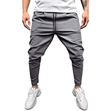 Amazon.it: Pantaloni Tuta Stretti Grigio