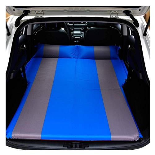 DXDOI sur-Matelas de Camping Gonflable for Voiture - avec Pompe for Matelas électrique, Mini-fourgonnettes - Gonflement/dégonflage Rapide - Durable et Confortable (Color : Blue)