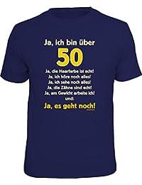 Original RAHMENLOS® T-Shirt zum 50. Geburtstag: Ja, es geht noch…
