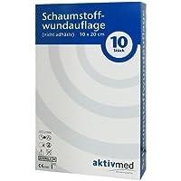 AKTIVMED Schaumstoffwundaufl.10x20 cm nicht adhäs. 10 St Verband preisvergleich bei billige-tabletten.eu