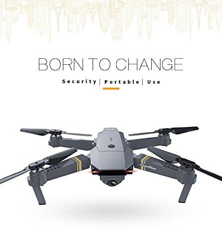Etbotu RC Drone E58 WIFI Weitwinkel HD Kamera Hohe Halten Modus Faltbare Bewaffnete RC Quadcopter RTF Drone
