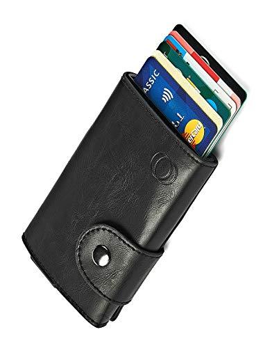Nuestro exclusivo tarjetero NeroAvorio, gracias a sutecnología RFID, bloquea la señal de frecuencia de 13.56 MHzimpidiendoque puedan clonar sus tarjetas de crédito o realizar cobros indebidos sin queusted se dé cuenta. Imprescindible para estar p...