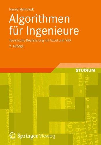 Excel-ingenieur (Algorithmen für Ingenieure: Technische Realisierung mit Excel und VBA (German Edition))