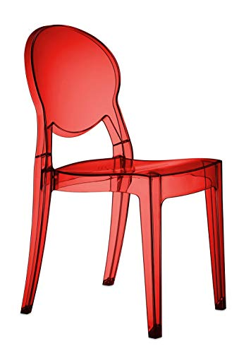 Scab Design Set 2 sedie Igloo Chair Colore Trasparente