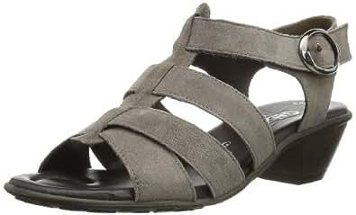 Gabor Shoes Gabor Comfort 86.055.78 Damen Sandalen, Grau (mineral), EU 44 (UK 9.5) (US 12)