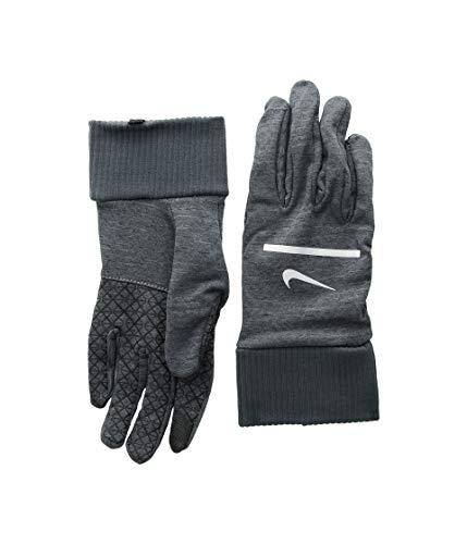 Nike Herren Mens Sphere Running Gloves 061 Handschuhe, Dark Grey Heather/Anth, L