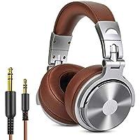 Cuffie da Studio DJ chiuse senza adattatore OneOdio per monitoraggio e missaggio, cuffie in pelle con protezioni, isolamento acustico, alloggiamento ruotabile a 90°, cuffie stereo over ear portatili