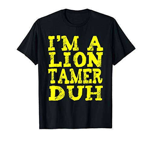 EASY LION TAMER HALLOWEEN COSTUME Geschenke T-Shirt