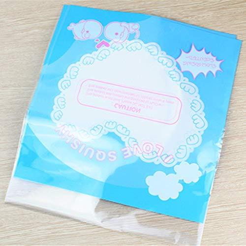 Xuniu Squishy Spielzeug Aufbewahrungstasche, Squishies Organizer Container Bag Verpackung Geschenk Zubehör Big-Blue
