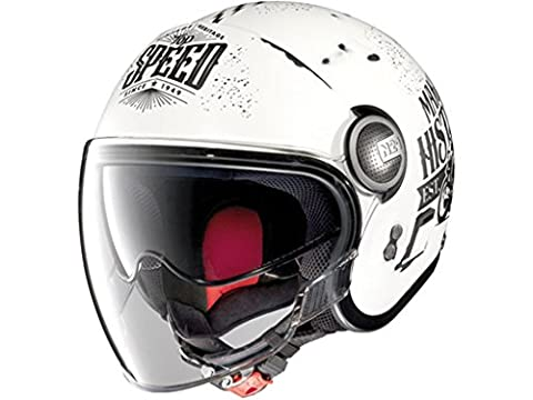Helm Nolan N21 mit Visier MotoGP Legends, M (57)