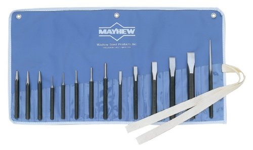 Mayhew may61044 14 Piece Set di scalpelli e punzoni