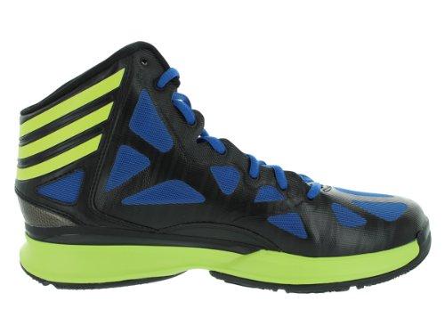 Adidas Verrückte Shadow 2 schwarz / blau Mens 7 Black1/Electr/Blubea