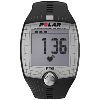 Polar FT2 Heart Rate Monitor and Sports Watch - Black