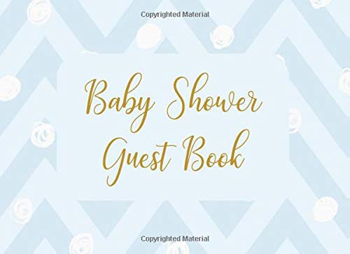 Diagonal Dots (Baby Shower Guest Book: Welcome Sign In Wishes for Baby and Advice for Parents - Blue Diagonal with Dots)