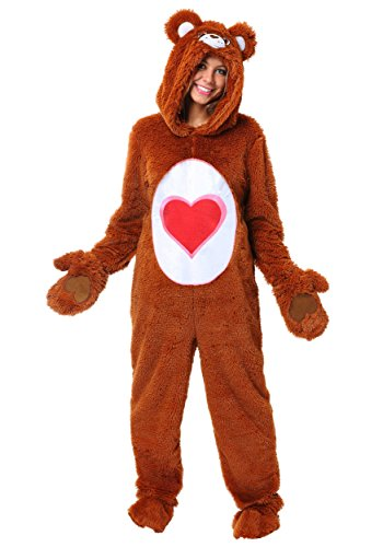 ssic Tenderheart Bear Fancy dress costume Medium (Adult Care Bears-kostüm)