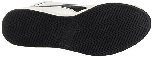 Diadora Herren Game P High Hohe Sneaker Elfenbein (Bianco/nero)