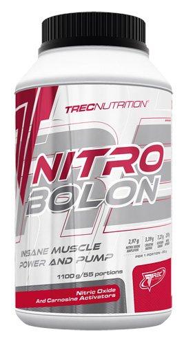 Trec Nutrition Nitrobolon II Muskelaufbau maximierter Fokus und massiver Pump Energy Sport Bodybuilding 1100g Dose -Tropical