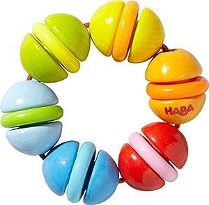 HABA 303927 Juguete de Peluche - Juguetes de Peluche (Multicolor, De plástico, Haya, 0,5 año(s), Niño/niña, 70 mm, 25 g)