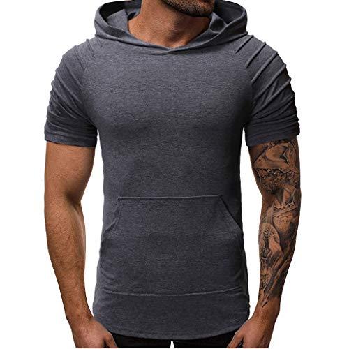 9a338b90af NDA319-Beikoard Promoción Limitada-Verano-Camiseta de Hombre-Top de Manga  Corta-Ocio Deportes-Fitness-Slim Fit-Apretado