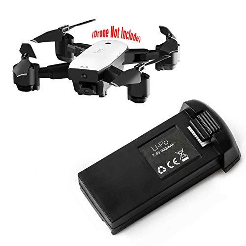 Hotbird Original 7.4V 900mAh wiederaufladbare Lipo Batterie Zubehör für 5G GPS Faltbare RC Drohnen Quadcopter Selfie Drohne