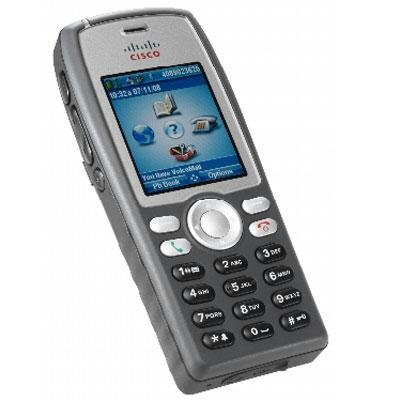 Cisco 7925G Wireless Handset 6Zeilen LCD WLAN grau, silber Cisco Handset