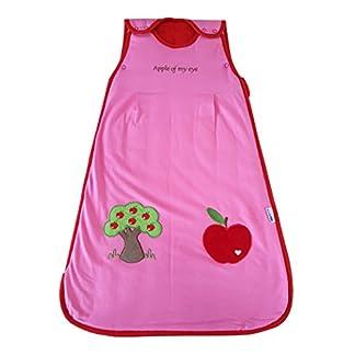 Saco de dormir de verano para bebé Slumbersac 1.0 Tog manzana roja 0-6 months/70cm