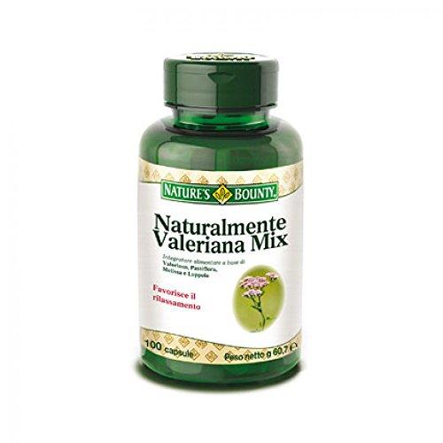 natures-bounty-naturalmente-valeriana-mix-integratore-alimentare-100-capsule
