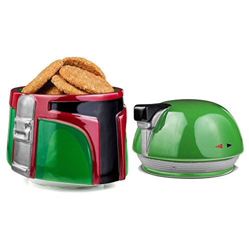 star-wars-boba-fett-de-ceramica-tarro-para-galletas-color-verde