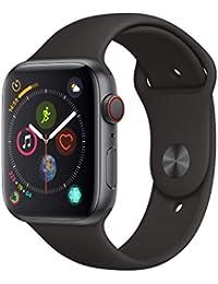 Apple Watch Series 4 Reloj Inteligente Gris OLED Móvil GPS (satélite) - Relojes Inteligentes (OLED, Pantalla táctil, GPS (satélite), Móvil, 36,7 g, Gris)
