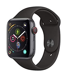 Apple Watch Series 4 (GPS + Cellular) con caja de 44 mm de aluminio en gris espacial y correa deportiva negra (B07JVS9M7J) | Amazon price tracker / tracking, Amazon price history charts, Amazon price watches, Amazon price drop alerts