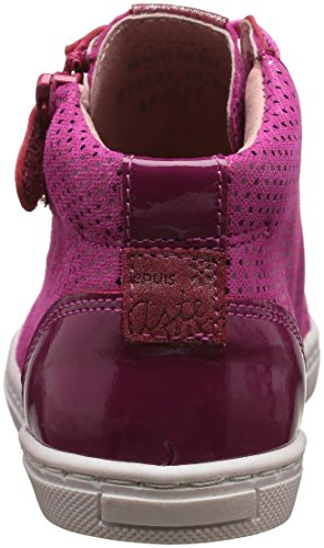 Aster Mädchen Risle Sneaker Pink - Rosa (Fuchsia)