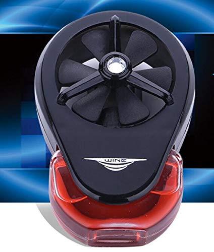 Tuniya Parfüm Clip Mini Fan Outlet Auto Lufterfrischer Duft Diffusor für Auto Klimaanlage Air Outlet Ätherisches Öl Diffusor für Home Car Office (Fan Diffusor)