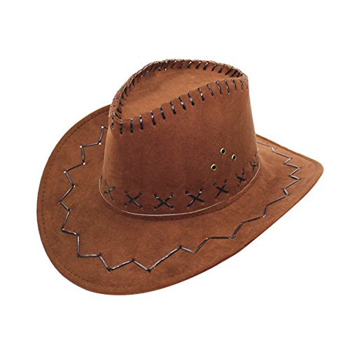 iShine Unisex Moda Cappello a Tesa Larga 26756124a421
