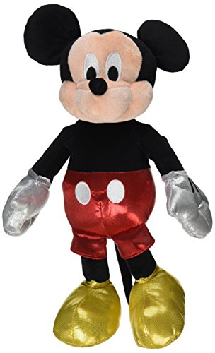 Ty Beanie Buddies Mickey Sparkle Medium Plush by Ty Beanie Buddies (Beanie Ty Mickey)