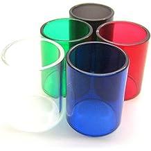 Mychun SMOK TFV8 tubo de cristal de repuesto para cenicero de cristal (5 colores)