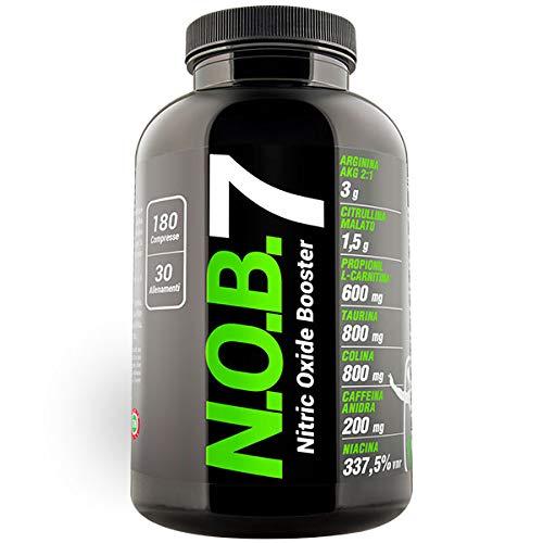 NOB 7 Arginina pre allenamento (180 compresse) NOB7 - NET Integratori