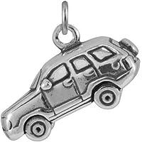 Ciondolo TheCharmWorks in argento Sterling a forma di auto fuoristrada 4x4