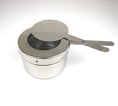 Preisvergleich Produktbild Edelstahl Brennpastebehälter Brennpaste Behälter mit Deckel für Chafing Dish