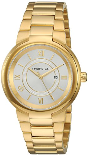 Philip Stein Women's 'Active' Quartz Stainless Steel Casual Watch, Color Gold-Toned (Model: 31-ACGW-GSS)