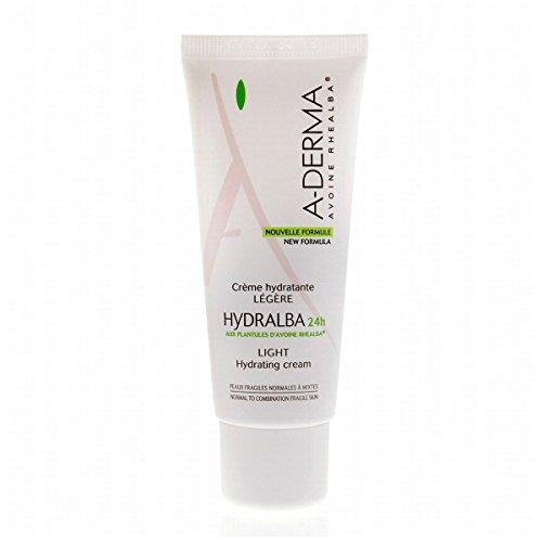 Aderma Hydralba Crema Idratante Leggera 24h Viso 40 ml