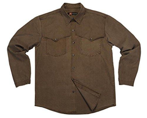 La chemise Kakadu Traders Australia Station, 5S05/10MS05 Mustard