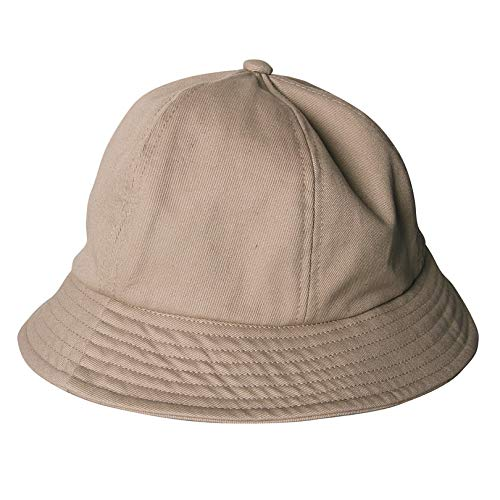 LUHETYM Sunscreen Bucket Hat Sun Cap for Women Summer Canvas Khaki/Black/White Solid Color Uv Protection Fisherman Female Sun HatKhakiFashion Sun Hat Beach Hats Canvas-cap Khaki